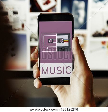 Music Audio Recreation Relaxation Entertainment Concept