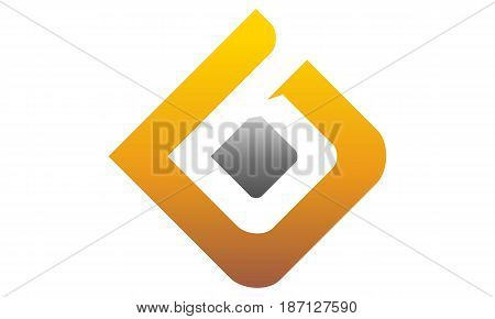 This image describe about Modern Logo Solution Letter D B