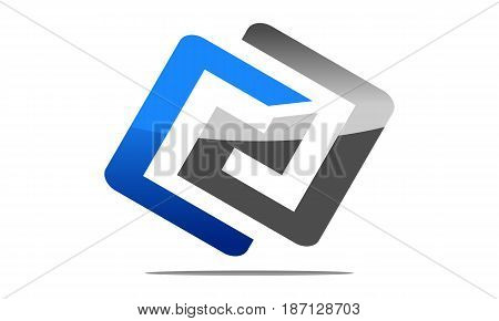 This image describe about Modern Logo Solution Letter C A, CA,AC