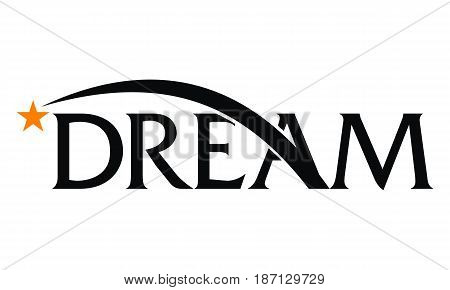 This image describe about Letter Dreams Logo