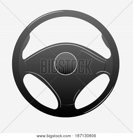 Car Rudder Icon.