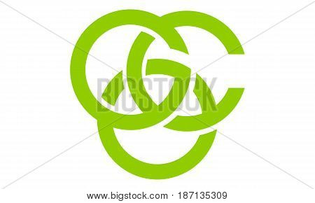 This image describe about Modern Logo Solution Letter G C O