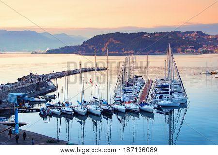 Lerici, Liguria Province, Italy.