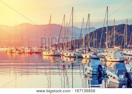 Lerici, Ligurian Region, Italy.