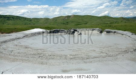 Mud Volcano Eruption