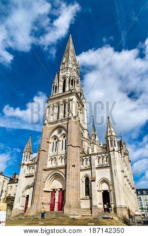 Basilique Saint Nicolas in Nantes - France, Loire-Atlantique