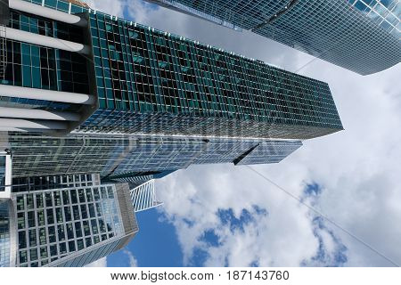 City of Capitals Towers of Moscow International Business Center - Moscow, Russia
