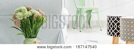 Fresh Flower In Living Room