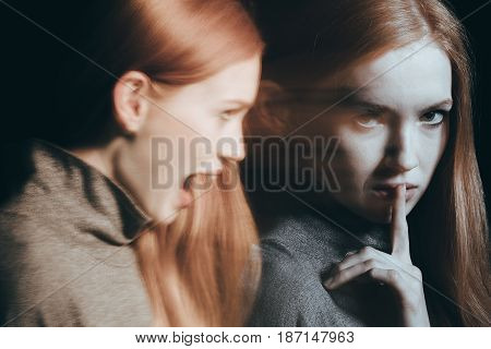 Woman With Identity Disorder
