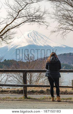 Mt.fuji From Kawaguchiko Lake