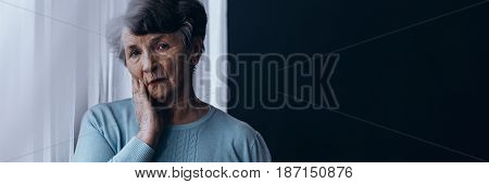 Older Women Suffering From Depression