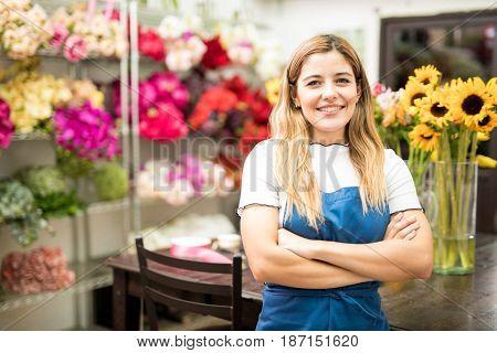 Owner Of A Flower Workshop