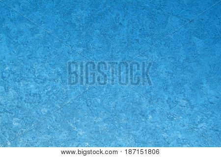 Natural background of blue ice for texture