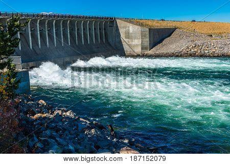 Dam Gate Of Jackson Dam I