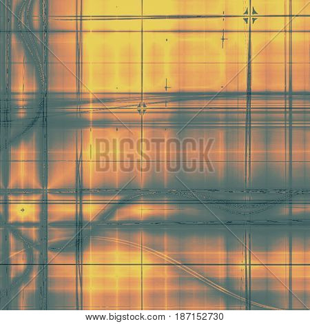 Abstract old background or faded grunge texture. With different color patterns: yellow (beige); brown; gray; red (orange)