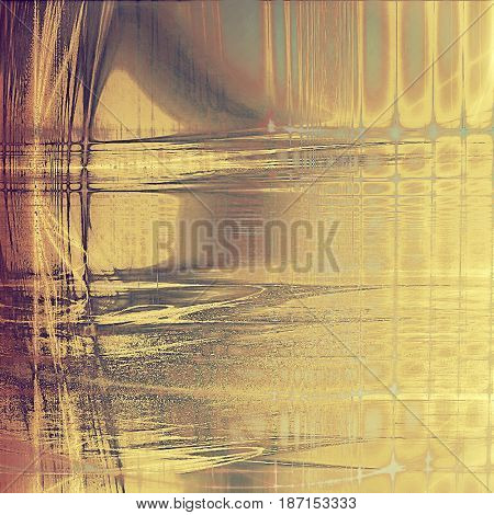Old texture as abstract grunge background. With different color patterns: yellow (beige); brown; gray; purple (violet); pink