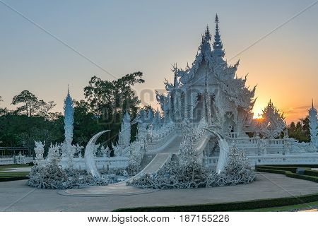 Wat Rong Khun The White Temple