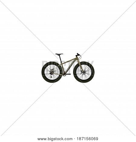Realistic Extreme Biking Element. Vector Illustration Of Realistic Bmx Isolated On Clean Background. Can Be Used As Bmx, Extreme And Bike Symbols.