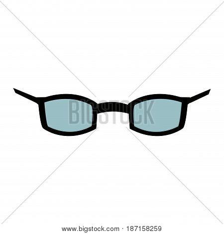 glasses optical accessory fashion style image vector illustration