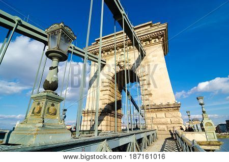 Chain Bridge Is The Quintessential Symbol To Budapest, Hungary