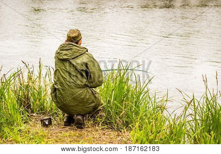 Good rest on the nature fishing is very interesting and popular all over the world occupation