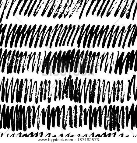 Vector Seamless Grunge Pattern.