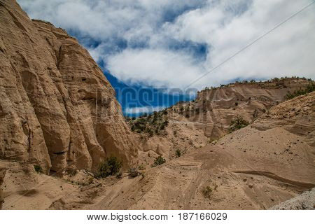 Kasha-katuwe Tent Rocks National Monument, Cochiti, Nm, Usa