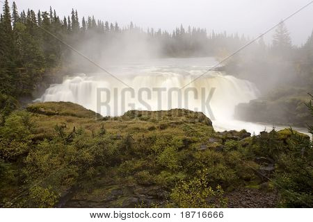Pisew Falls Northern Manitoba Canada scenic beauty