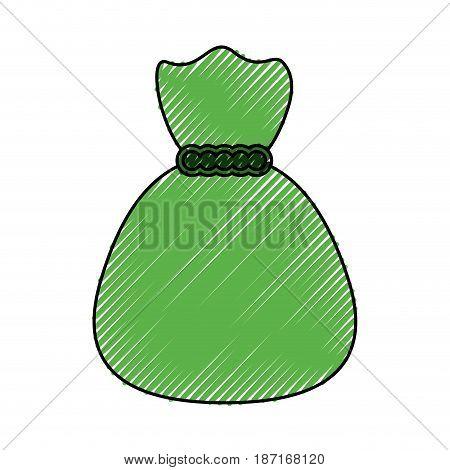 Bag of money symbol icon vector illustration graphic design