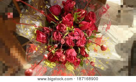A red rose is an expression of love. Red roses usually show deep feelings, like love, longing, or desire. Red roses can also be used . It represents the color of the rose flower