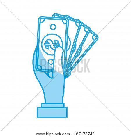 Billets money symbol icon vector illustration graphic design