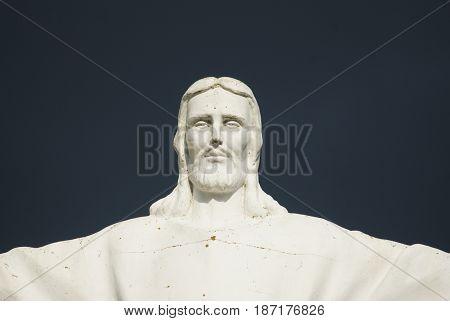 Exact copy of the statue of Jesus Christ. Cristo Rei Style.