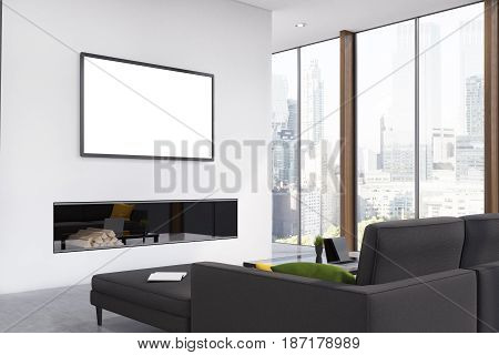 Fireplace Living Room, Corner