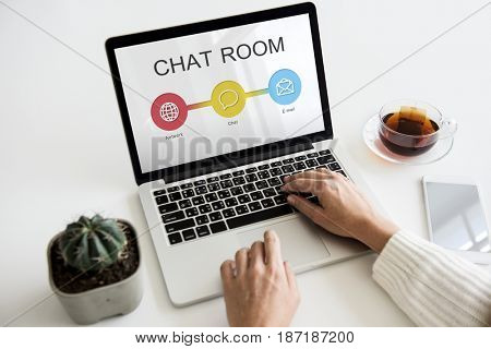 Chat room Diagram Communication Technology