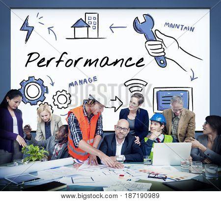 Technical performance evaluation assessment diagram
