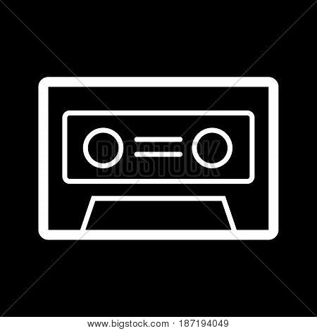 cassette music old fashion vector illustration design. eps 10
