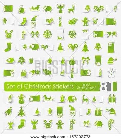 It is a set of Christmas stickers