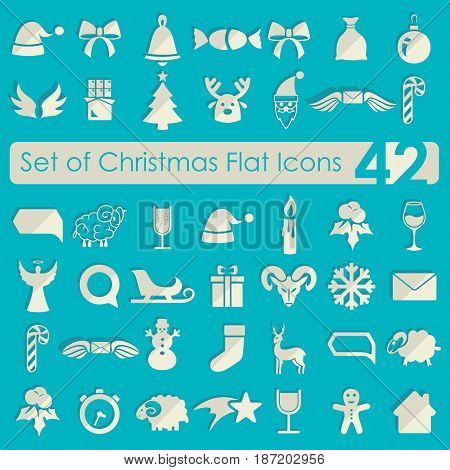 It is a Set of Christmas icons