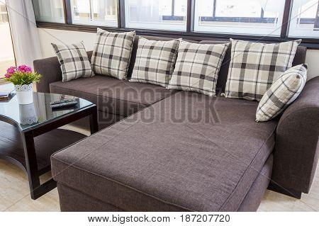 Interior Design Of Luxury Apartment Living Room