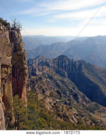 Copper Canyon Scene