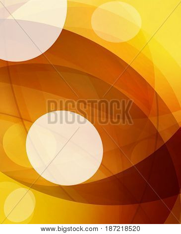 Glossy glass shiny bubble abstract background, wave lines. illustration
