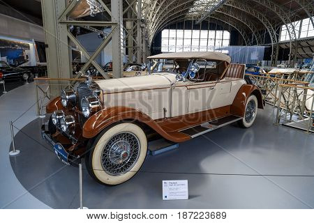 Automobile Exhibition Museum In Brussels