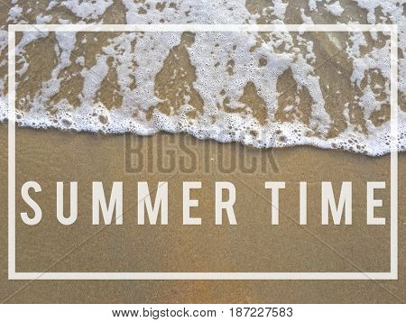 Summer Time Chill Relaxation Concept