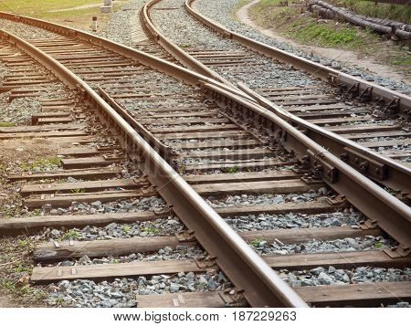 Rail Journey. Toned