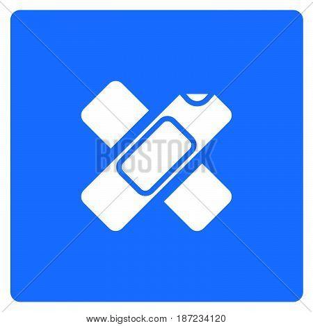 Thin Line Wound Plester Icon
