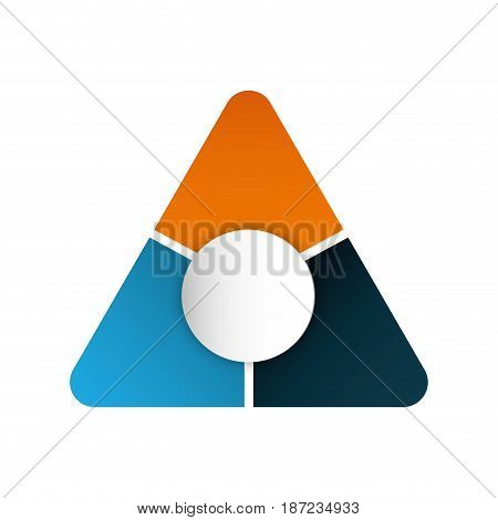 corporate emblem icon over white background. vector illustration
