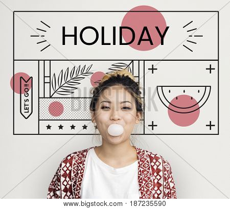 Enjoyment Holiday Vacation Chill Concept