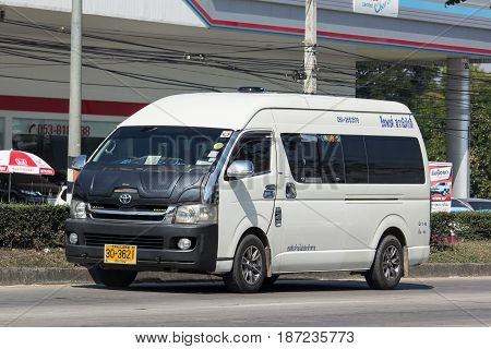 Private Toyota Commuter Van