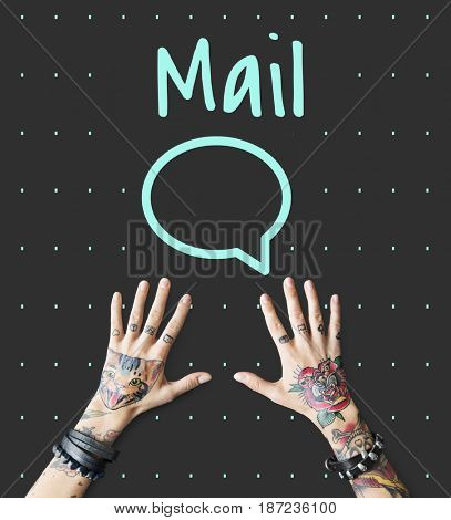 Hello Hi Mail Message Post Text Me