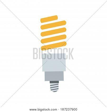 saving light bulb electricity energy vector illustration